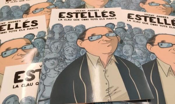 Cerca de 400 cómics sobre Vicent Andrés Estellés llegan a los centros de primaria de Burjassot