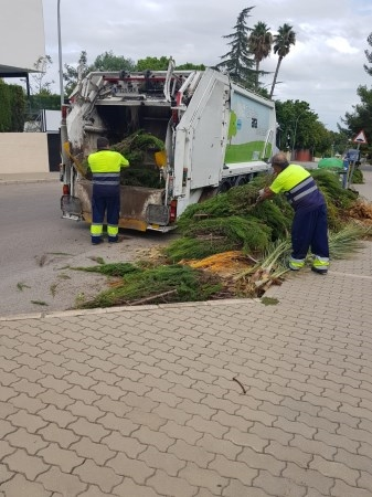 El Ayuntamiento de Godella reforzará los trabajos de limpieza viaria en Campolivar y otras áreas del término