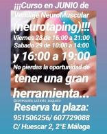 Curso en Junio de Vendaje Neuromuscular (Neurotaping)
