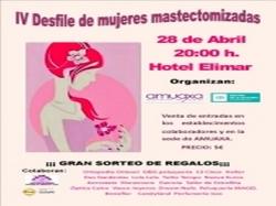 Rincón de la Victoria celebra el IV Desfile de Mujeres Mastectomizadas en apoyo a programas de prevención y terapias