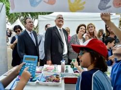 Ramírez de Arellano inaugura la Feria de Emprendimiento de Sevilla, que reúne a más de 1.200 alumnos, 41 centros y 30 proyectos