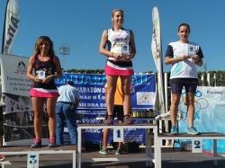 Marga Castaño del Club Atletismo Rubeltor triunfa en el Trail Almijara 2017
