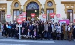 La Diputación implica a los 103 municipios de la provincia en la campaña 'No a la violencia machista'