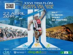 Más de 700 deportistas participarán en la XXVI edición del Triatlón de Torre del Mar el próximo 22 de abril