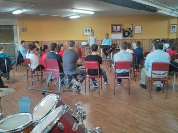 La Banda de Música Municipal de Rincón imparte clases de verano para nuevos integrantes en La Sala Las Musas del Rincón