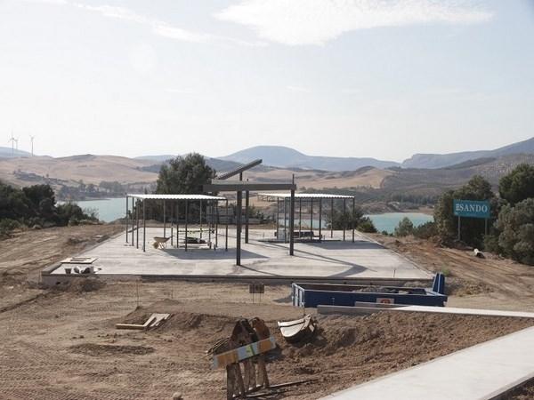 Las obras del centro de recepción de visitantes del Caminito del Rey concluirán en otoño
