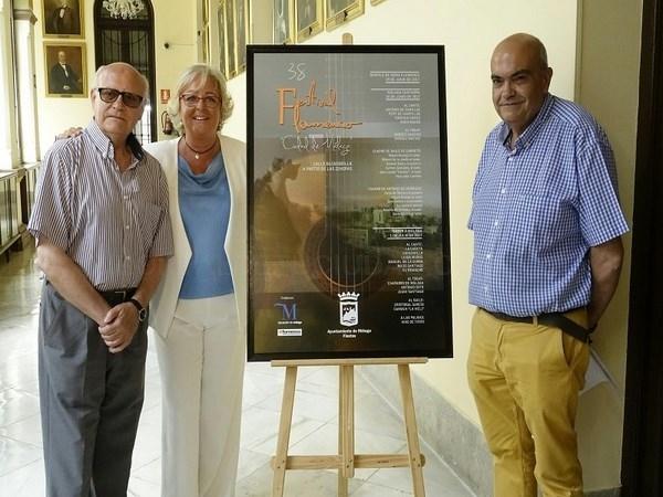 El Festival de Flamenco 'Ciudad de Málaga' vuelve a calle Alcazabilla y se amplía este año a tres días