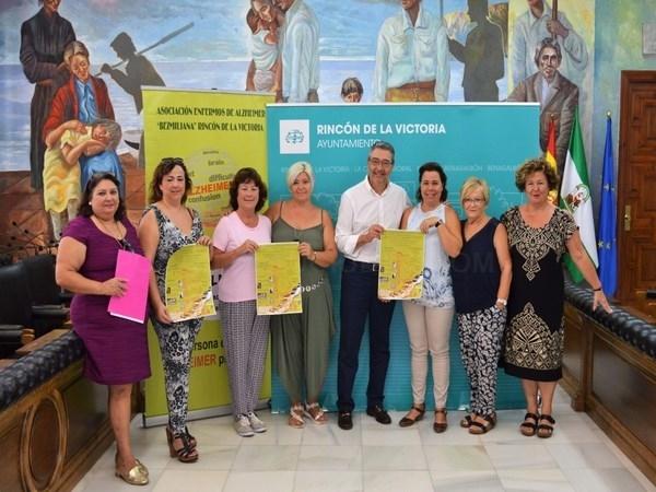 Rincón de la Victoria apoya el Día Mundial del Alzehimer con más de una decena de actividades organizadas por Asalbez durante el mes de septiembre