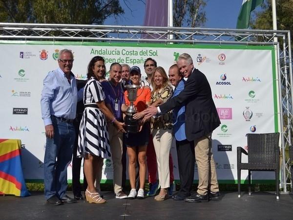 Culmina con éxito el segundo Open Femenino consecutivo que acoge la Costa del Sol