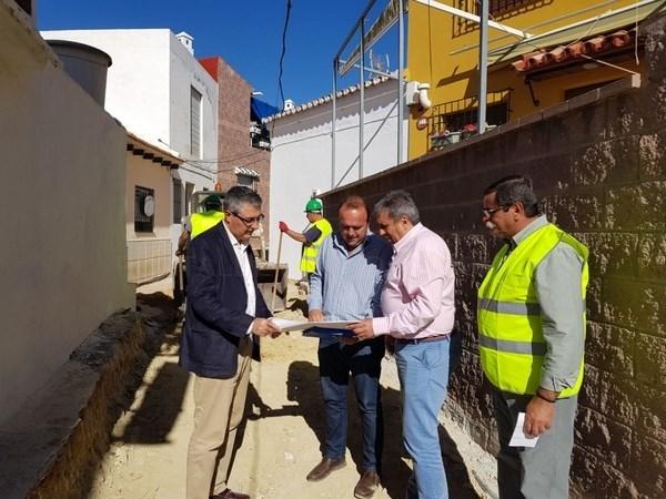 Iniciadas las obras de mejora de infraestructuras en la barriada Los Fernández con una inversión de más de 114.000 euros