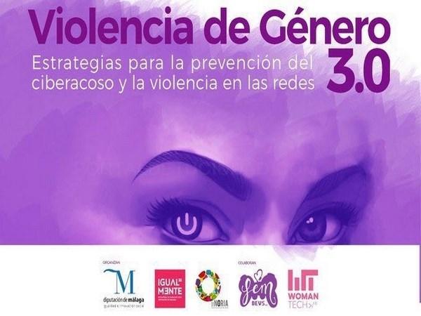 La Diputación impulsa la prevención del ciber acoso y la violencia en las redes a través del webinario 'Violencia de Género 3.0'