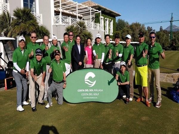 Málaga y la Costa del Sol se unen para promocionar un producto combinado de lujo y golf para agentes de viajes chinos
