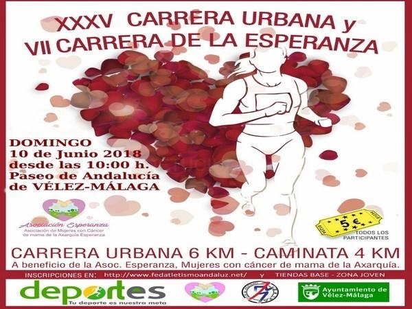 Vélez-Málaga presenta la XXXV Carrera Urbana y la VII Carrera de la Esperanza
