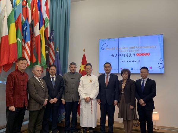 LA GASTRONOMíA CHINA SE VISTE DE GALA ANTE LA ORGANIZACIóN MUNDIAL DE TURISMO