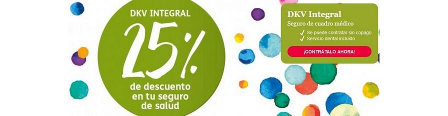 Campaña 25% Descuento DKV Salud Integral