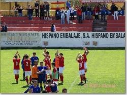 El RSD Alcalá, regresa a la senda de la victoria.