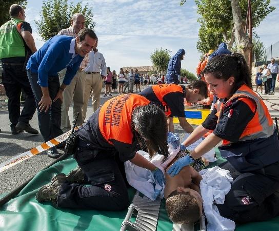 Servicio de aviso masivo a la población en caso de riesgo o emergencia
