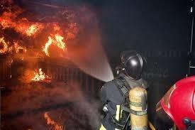 Incendio en Meco