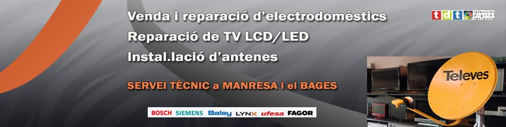 Tienda electrodomésticos manresa, reparación electrodomésticos manresa