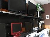 venta televisores, instalación y reparación antenas parabolicas