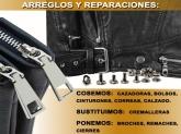 sabater manresa, reparar cremalleras bolsos cinturones cazadoras manresa