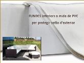 proteccion sofas exterior, fundas sofas pvc manresa