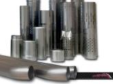 componentes para tubos de escape,  tubos perforados acero