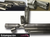 car curved tubes, estampacion de tubos