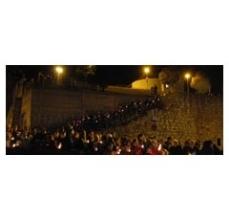 Processó d'espelmes - Festa de la Llum