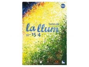 Cartell Festa de la Llum 2012