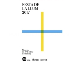 Cartell Festa de la Llum 2017