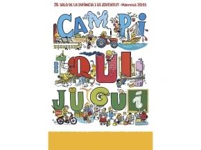 Cartell 26a edició Campi qui jugui