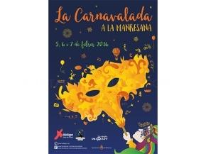 Cartell Carnavalada Manresana 2016
