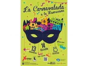 Cartell Carnavalada Manresana 2015
