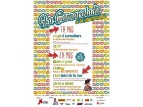 Cartell Carnavalada Manresana 2014