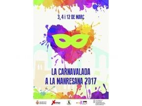 Cartell Carnavalada Manresana 2017