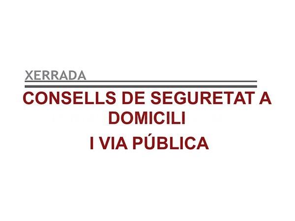 Consejos de seguridad a domicilio y vía pública en el Casal de Gent Gran de Cardona