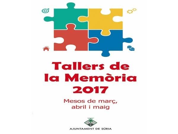 Nueva edición de los Talleres de la Memoria para la gente mayor en Súria