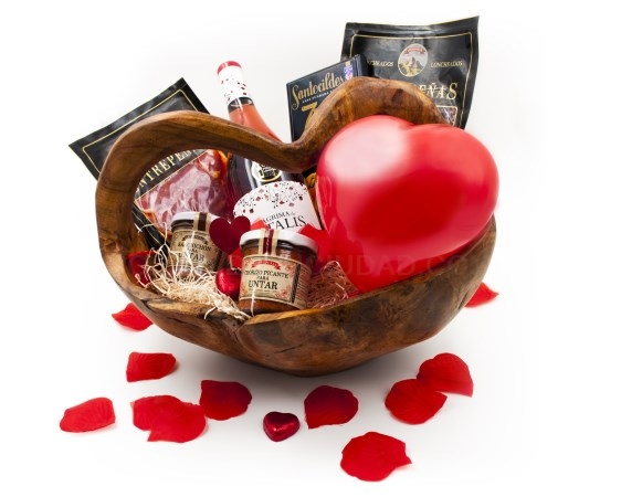 Sorprende a tu pareja por San Valentín con productos gourmet