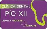 tarjeta pio xii,  clinica dental en las palmas