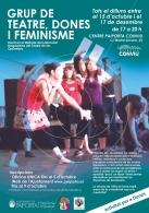 ABIERTA LA INSCRIPCION PARA EL TALLER DE TEATRO, MUJERES Y FEMINISMO EN PAIPORTA