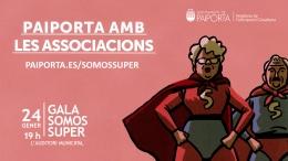 SOMOS SúPER PAIPORTA RECONOCE LA LABOR DE OCHO ENTIDADES Y ASOCIACIONES LOCALES A PARTIR DE ESTE JUEVES