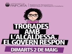 Tercera edición de los Encuentros con la Alcaldesa de Paiporta, que llegan al Barrio del Poble el próximo 2 de mayo