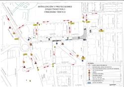 Las obras de reparación del alcantarillado de la Calle Mestre Palau empiezan este martes