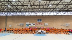 La escuela de balonmano municipal de Picassent se presenta con 10 equipos y más de 150 deportistas