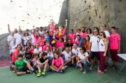 Lucia Sempere y Francesc Bosch se coronan en el IV Campeonato de Escalada de Velocidad Vicente Aguilar de Paiporta