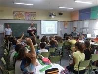 El Ayuntamiento de Silla y la Clínica veterinaria Silla, durante esta semana están desarrollando en los centros educativos de Silla unas charlas