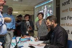 Vicent Marco presenta sus libros 'De Categoría' en Picassent