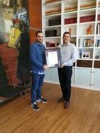 AENOR renueva su certificación de Calidad a la Carta de Servicios de l'Ajuntament d'Alfafar