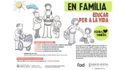 La Escuela de Familias de Paiporta ofrece el programa 'En familia: Educar para la vida'